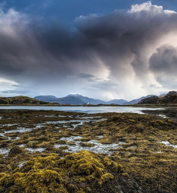 Gloomy clouds in 'Sky on Skye' in Inner Hebrides, Scotland, by Tim Way.