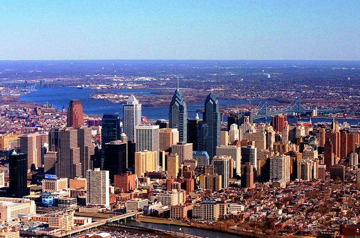 Панорама Филадельфии