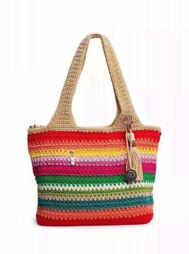 Crochet Bag Pictures  #CrochetBagPatterns #CrochetPatterns #CrochetBags #Crochet
