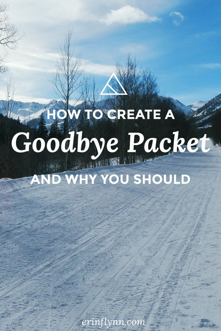 A goodbye packet includes all of the important info your client needs to know, and cuts down on support at the end of your projects. Learn how to make one!