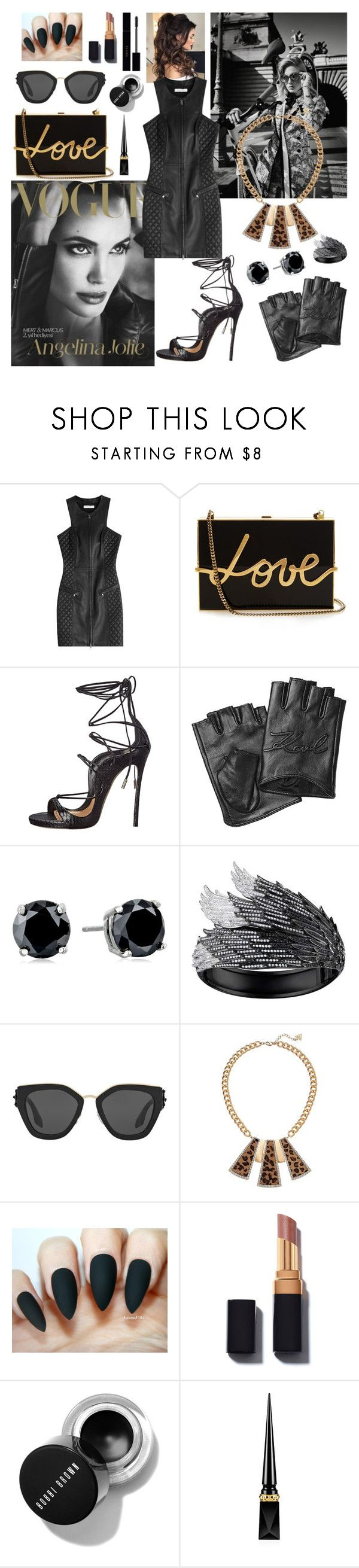 """""""Untitled #75"""" by sexyjelly484 ❤ liked on Polyvore featuring Burton, Pierre Balmain, Lanvin, Dsquared2, Karl Lagerfeld, CZ by Kenneth Jay Lane, AS29, Prada, GUESS and Christian Louboutin"""