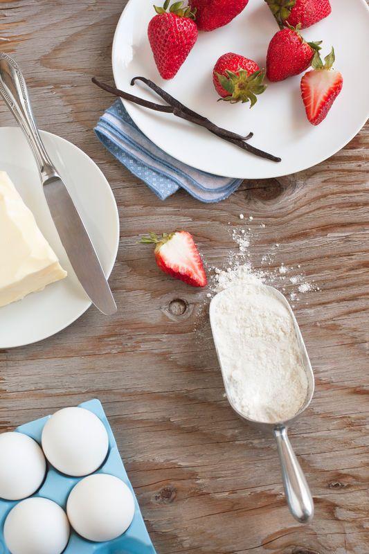 Proste przepisy na ciasta - tarta z owocami