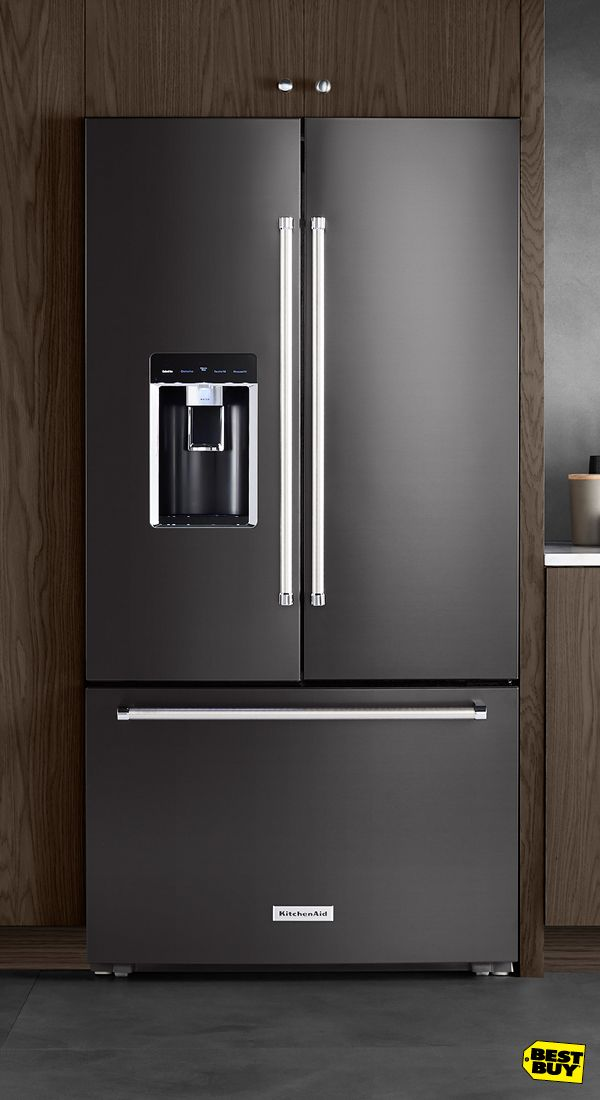 Ready to turn some heads? Give your kitchen an entirely new look with Black Stainless Steel from KitchenAid. The latest in technology inside and out, KitchenAid appliances in Black Stainless will transform the way you cook, and the way your kitchen looks.