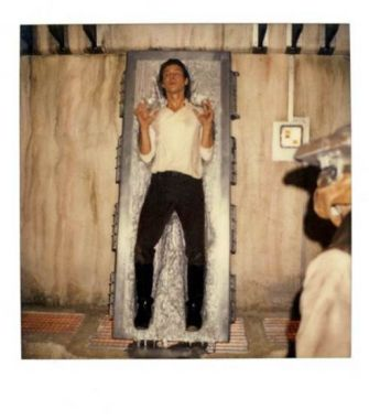 rare behind the scenes polaroids of star wars return of the jedi 3 Rare behind the scenes polaroids of Star Wars Return Of The Jedi