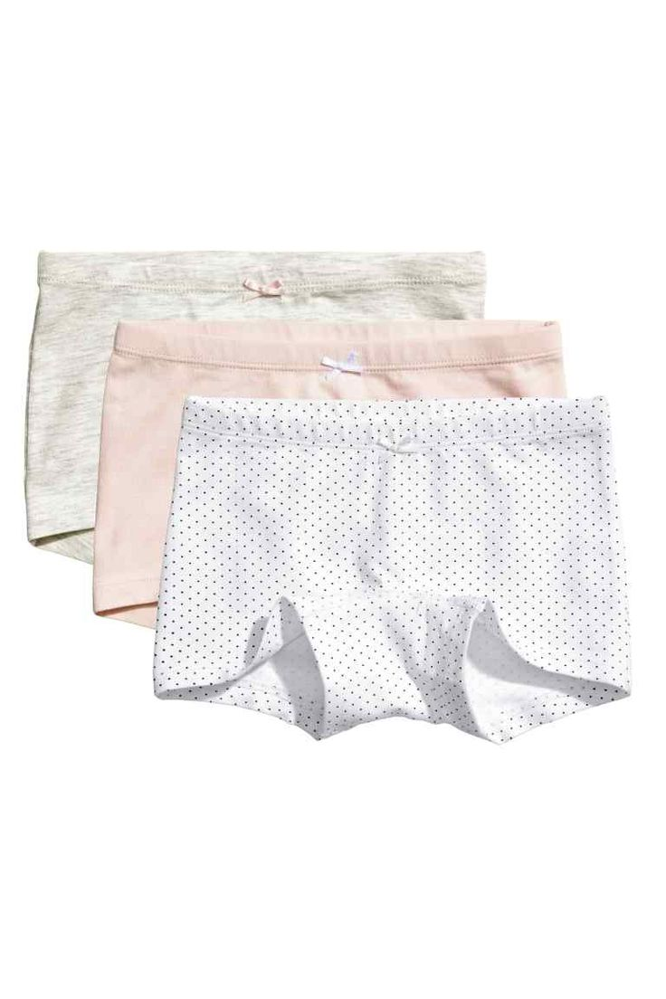 3-pack boxer briefs - White/Spotted - Kids | H&M GB 1