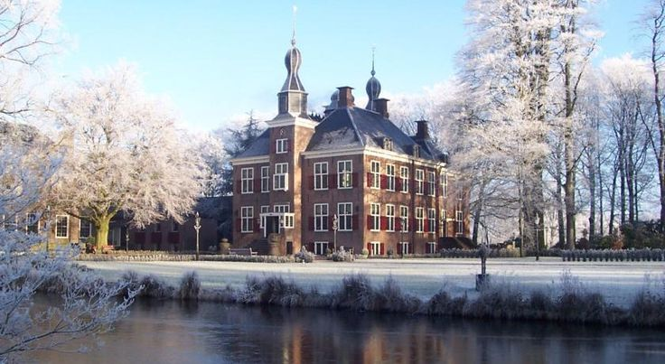 Kasteel De Essenburgh is situated at a beautiful estate in Hierden, near Harderwijk. This attractive castle welcomes you in style in its historical and natural setting. #castle #holland #visitholland
