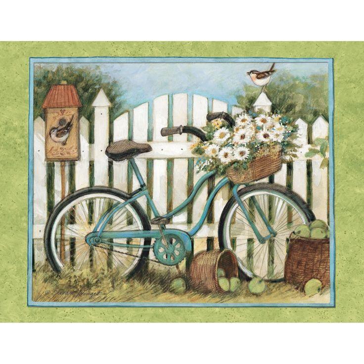 Голубой велосипед Примечание карты, 1005302 | Ланг