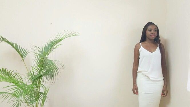 House of JM cami and fitted skirt.