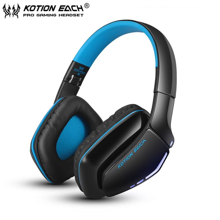 Foldable Bluetooth Stereo Headphone KOTION EACH B3506 Best Wireless Headset with Mic for iPhone / Phone Handfree Call / Music