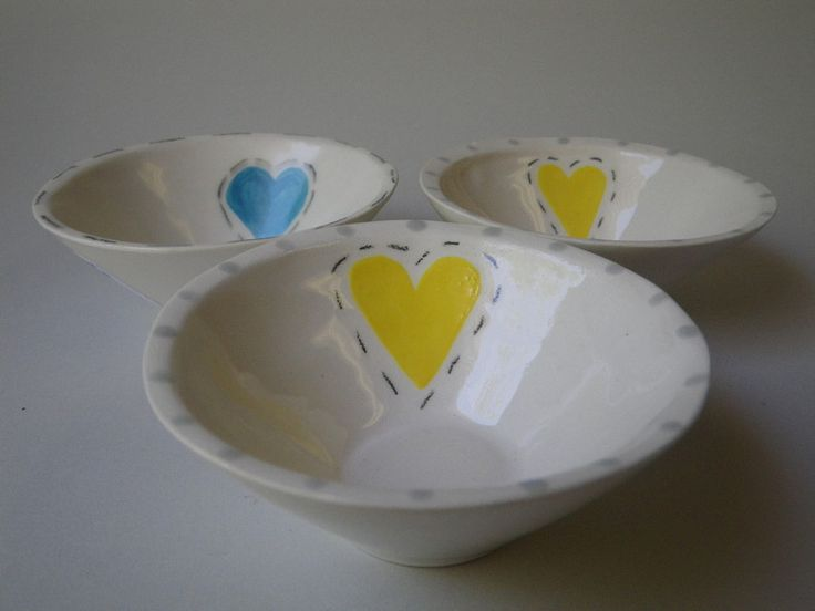 Love Bowls by Ck-ramics Pottery Studio for sale on http://hellopretty.co.za