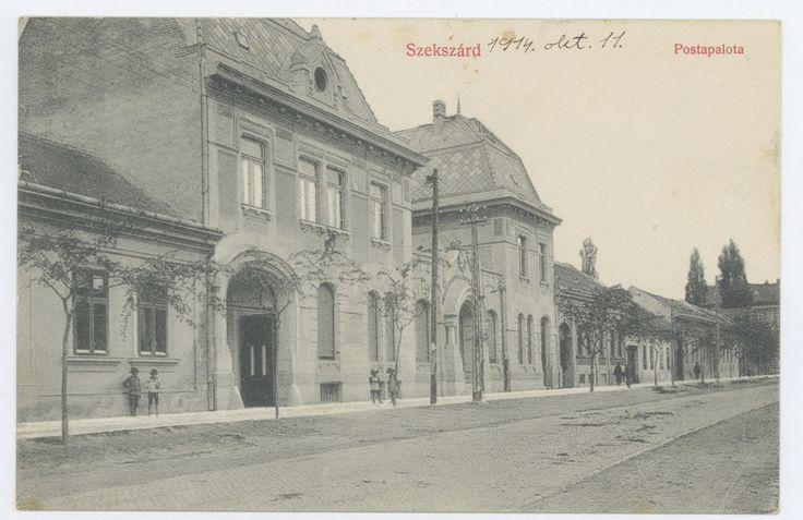 Szekszárd - Postapalota 1914.