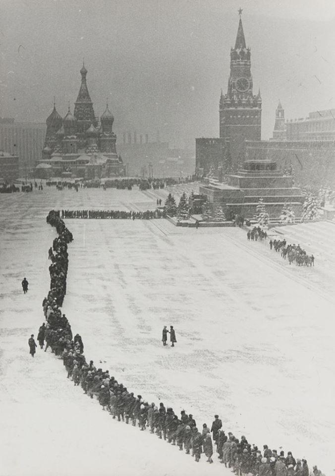 Dmitry Baltermants - Lenin Mausoleum Moscova