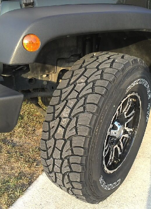 Jeep Rubicon Accessories >> Cooper Discoverer ATP on Wrangler JK -- First along with ...