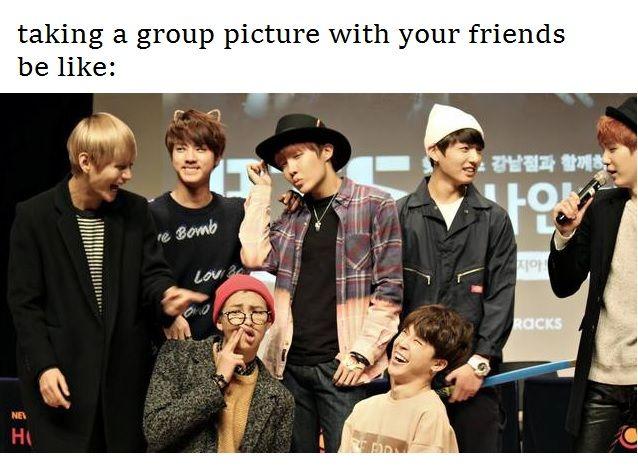 I'm Jimin, Jin, and V