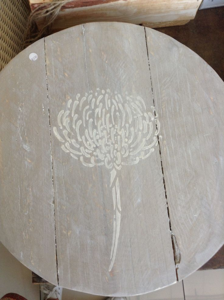 Cheese Board painted with Annie Sloan chalk paint