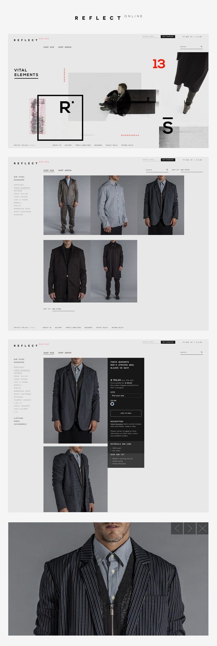 Reflect Online - webshop