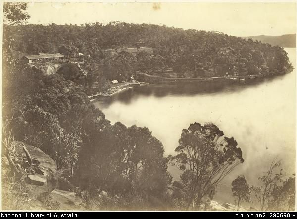 View of Pearl Bay c1880