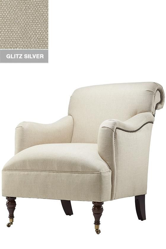 custom landen upholstered chair from home decorators find this pin and more on accent chairs