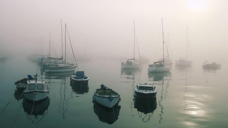 Boats moored at Penzance Harbour, Cornwall, England (© Clipcanvas)