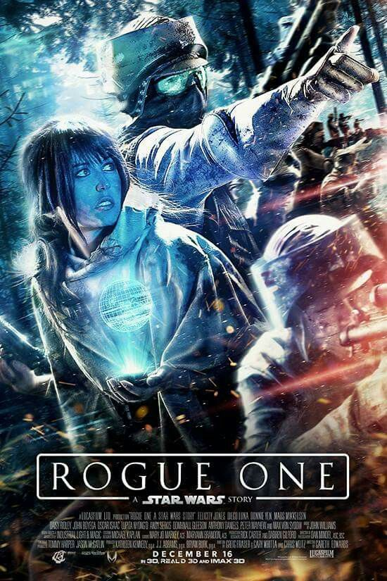 Views On Film Rogue One A Star Wars Story 2016 Stars