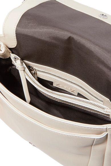Elizabeth and James - Tasseled Leather Shoulder Bag - Cream - one size