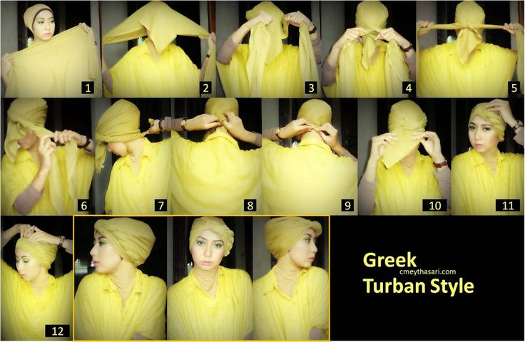 Greek Turban tu