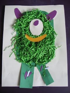 Messy Monster Craft   No Time For Flash Cards - Play and Learning Activities For Babies, Toddlers and Kids