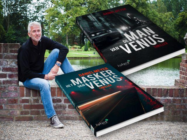 """Interview bij Thrillzone met auteur Daniel Meyer over zijn thrillers 'De man van Venus' en 'Het masker van Venus': """"Het leuke aan de hoofdrolspeler is dat hij niet opgeeft. Maar ook dat hij nog steeds verkeerde keuzes maakt. Deels omdat hij vier jaar lang als weduwnaar dag-in-dag-uit op de bank zat en de wereld aan zich voorbij liet glijden, deels omdat hij gedreven werd door wraak."""" #demanvanvenus #hetmaskervanvenus #danielmeyer #thriller #thrillzone #futurouitgevers"""