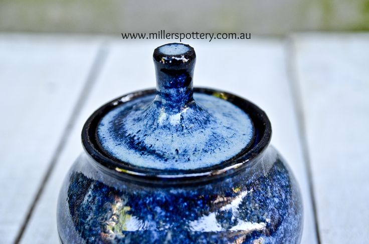 Australian handmade ceramic All Purpose Jar by www.millerspottery.com