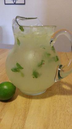 Refreshing Mojito By The Pitcher Mojitos Recipe - Food.com: Food.com