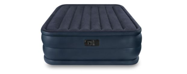 Save 55% on Intex Queen Inflatable Air Mattress With Built-In Pump #ad