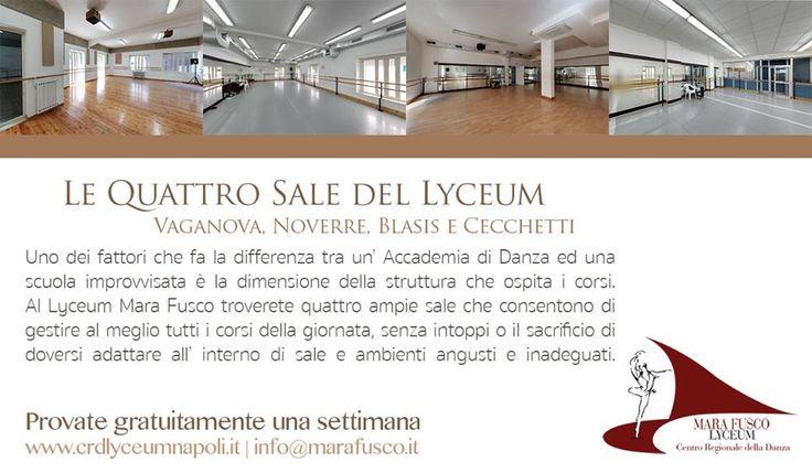 La struttura del Lyceum; una delle differenze tra un' Accademia di Danza e scuole improvvisate. Scoprila nel blog: http://www.crdlyceumnapoli.it/events/accademia-danza-napoli.html