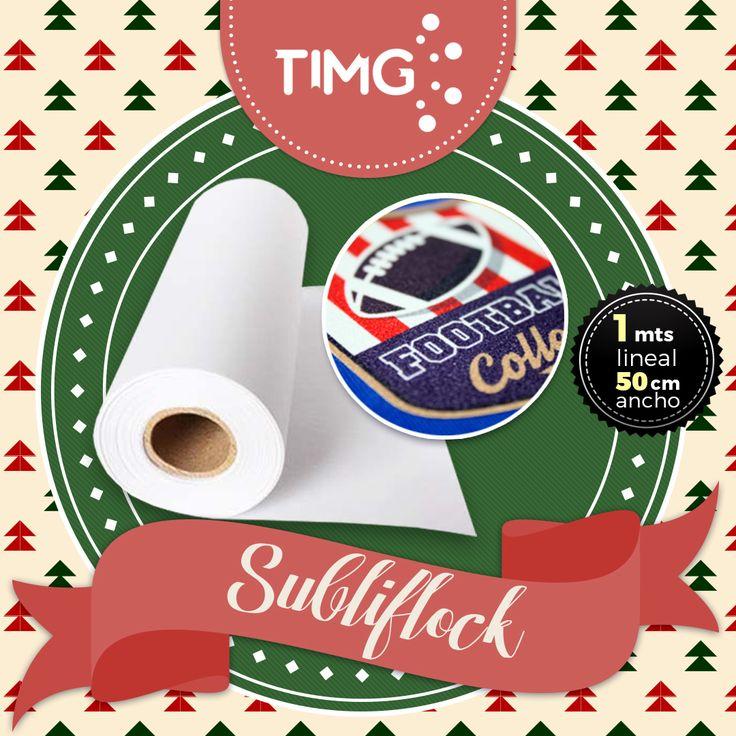 ¡Ya llego a #TIMG! Subliflock imprimible thermotransferible de 1m x 50cm. ¡Aprovecha su disponibilidad! Para saber mas de este producto ingresa a http://www.suministro.cl/product_p/3036160001.htm