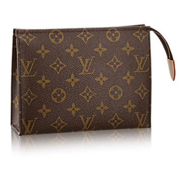Louis Vuitton toiletry 19 TOILETRY POUCH 19 M47544  Brand new 9.5/10  comes with dust bag, box The mid-sized toiletry pouch in Monogram canvas features a washable lining and slips easily into a handbag. Louis Vuitton Bags Cosmetic Bags & Cases