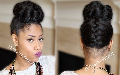 25 Updo Hairstyles For Black Women African American French Roll Hairstyle African American French Roll Hairstyle