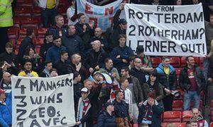 Aston Villas Randy Lerner says blame for relegation rests solely with him