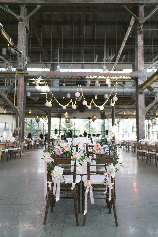 Philadelphia Industrial Wedding | photography by Love Me Do | as seen on @Ruffled #industrialwedidng #rusticwedding