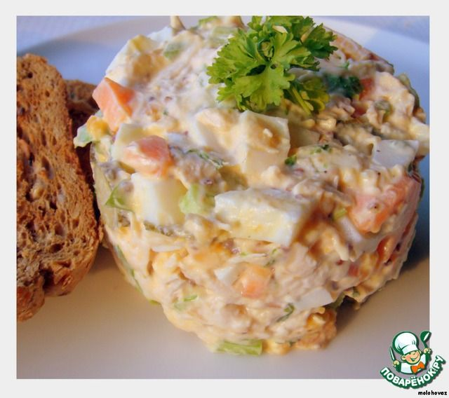 Куриный салат для сэндвичей ингредиенты