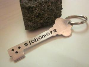 Clever.: Hands Stamps, The Doors, Potter Keys, Alohomora Keys, Keys Shape, Keys Rings, Harry Potter, Shape Alohomora, Keychains