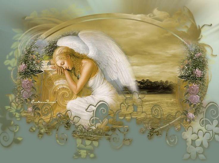 Спи мой ангелочек картинки