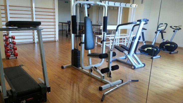 Sala de Musculación del Parador.