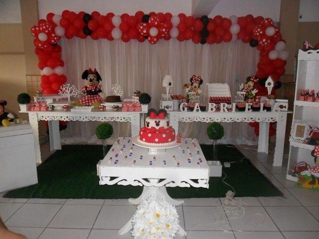 Buffet infantil Decoraçao provençal R 350,00