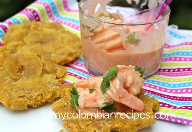 Colombian Shrimp Cocktail Recipe (Coctél de Camarones |mycolombianrecipes.com