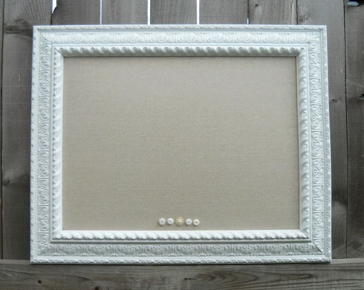 CORK BOARD framed for seating chart