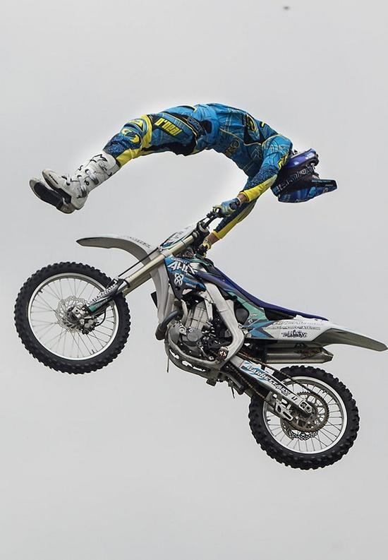 Garrett Ahlf Of The Monster Energy Freestyle Motorcross