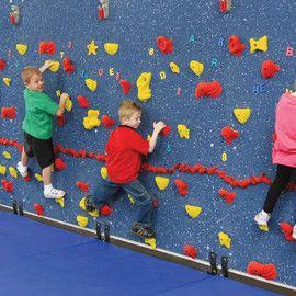Preschool Climbing Wall