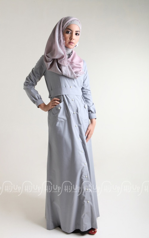 Maxi Shirt by Qay's Closet. Chic and neat cut. only on www.hijup.com