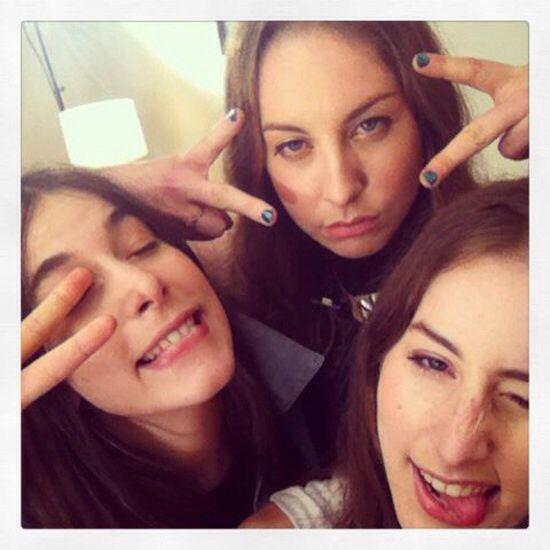 Three selfie