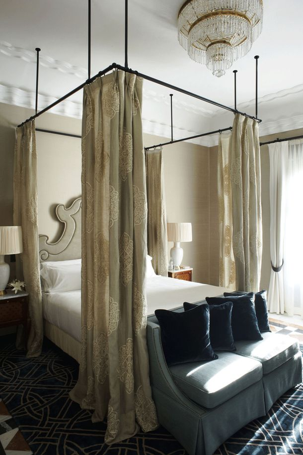 Find This Pin And More On NYC Studio: Curtains Around Bed By Vandex.