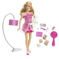 Barbie pink world pajama doll aka Pauline pajamas